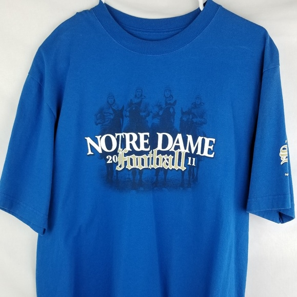 Ya que precio Animado  adidas Shirts | Adidas Notre Dame College Football Mens The Shirt | Poshmark
